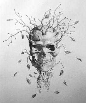 Tree Skull by TrentRedmon