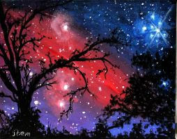 Cosmic Sky by ThisArtToBeYours