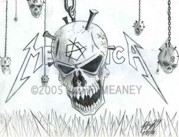 Metallica Skull by d4rkness-m4ster