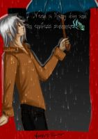 A rainy day by vampire-Raito