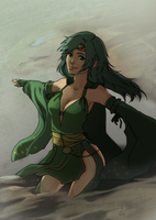 Summoner Rydia by Renuski