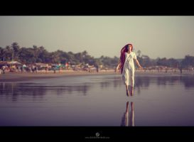 Indian calmness by Elisanth