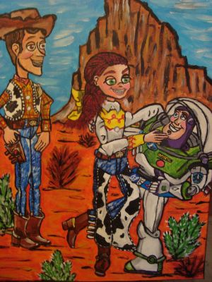 Grand Canyon Toy Story by spidyphan2