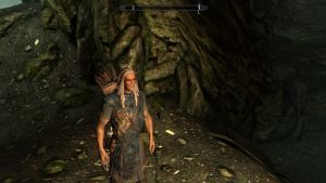 My Second Character In Skyrim: Wood Elf Michael by TheOnePhun211