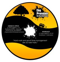 City Promotion CD Label by shinsaga