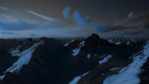 Majestic Mountain Ranges by Thyrring