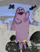 Nothing Can Kill the Grimace by Ska-T-Sama