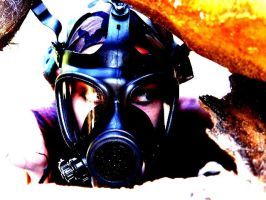 gas mask by DJ-Jynx