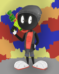 Marvin the Martian + Splatoon by Shake666Productions