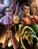 Disney Villains - Set 1 by mregina