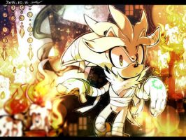 Silver the hedgehog request by pedriowns