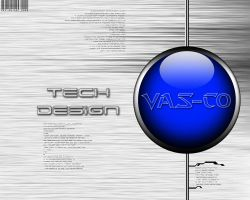 Tech Desing Wallpaper by Vas-co