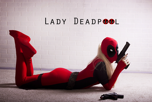 Lady Deadp00l by slowpenguin