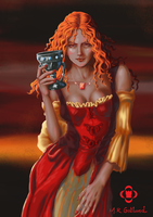 Melisandre of Asshai - A Song of Ice and Fire by mrgotland