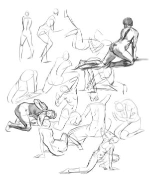 Daily lifedrawing by LawtonLonsdale