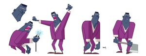 25/04/2014 Frankenstein - Simple characters by szlapa