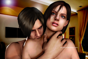 Jill and Leon by Shanttyvf
