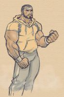 Powerman Luke Cage by scarab109