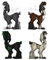Rabbit-Taurs Five +Closed+ by Stephys-Adoptables