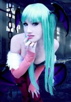 Morrigan Aensland by Paz-Cosplay