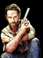 Rick Grimes (sketch version) by Giannitoarlie