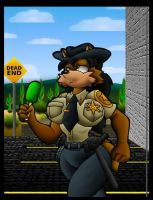 June Coyote On Duty. by Virus-20