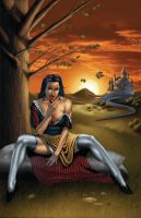 Grimm Fairy Tales 7 Variant by mikerenzine