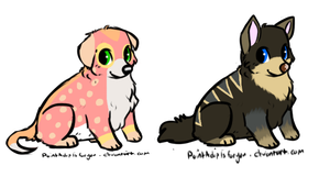 Puppy Design Point Auction -OPEN- by Twine-Adopts