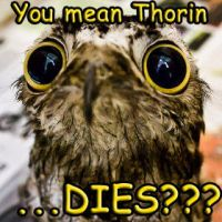 Potoo Comes to Sad Hobbit Realization by Kooky-Crumbs