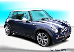 mini cooper by ianai
