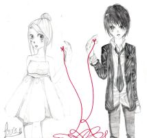 Just be Friends :Sketch: by amu-chan13