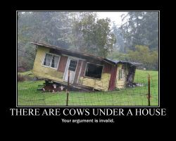 Don't have a cow. by Zapheil