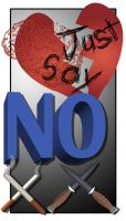 Just Say No Poster by archangel-fx