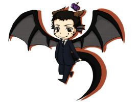Dragon!Moriarty by ShadowTHM