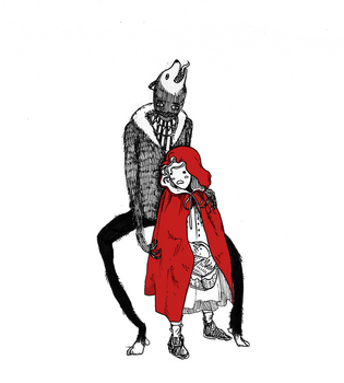 Red Riding Hood by Captain-Spooky