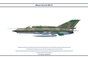 MiG-21 Germany 1 by WS-Clave