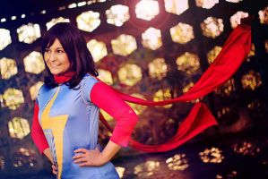 Ms. Marvel : Kamala Khan by Amapolchen