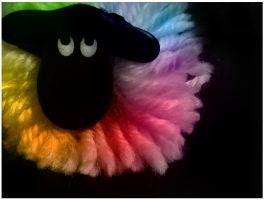 Rainbow sheep. by Danielle--x