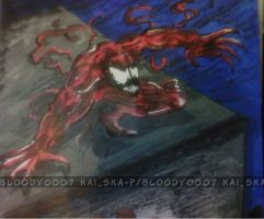 carnage request in progres by Bloo-DKai12