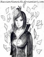 Konan - sketch by RussianKunoichi
