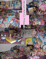 My Sailor Moon collection- not for sale by CL-Pinkskull