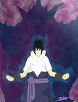 Susanoo and Sasuke by WndN3