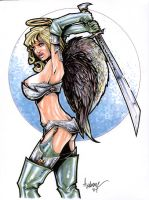 Battle Angel Veronika by Axebone