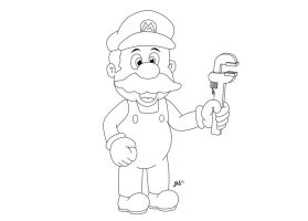 Mario by jpsimpson81