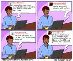 Being a Woman Online by Gyno-Star
