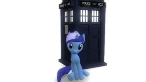The Crest and her TARDIS by mattwo