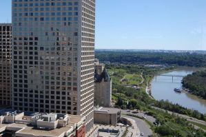 Stock 287 - Edmonton Downtown by pink-stock
