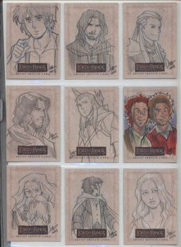 LOTR Masterpieces II 234-242 by aimo