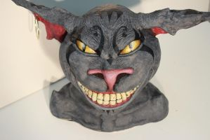 Chesire cat front by CupCakeMonsterCrafts