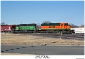 BNSF 1677 + 1689 by hunter1828